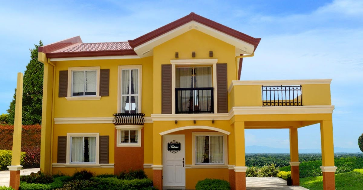 Camella homes camella bucandala fatima house and lot for Camella homes design with floor plan