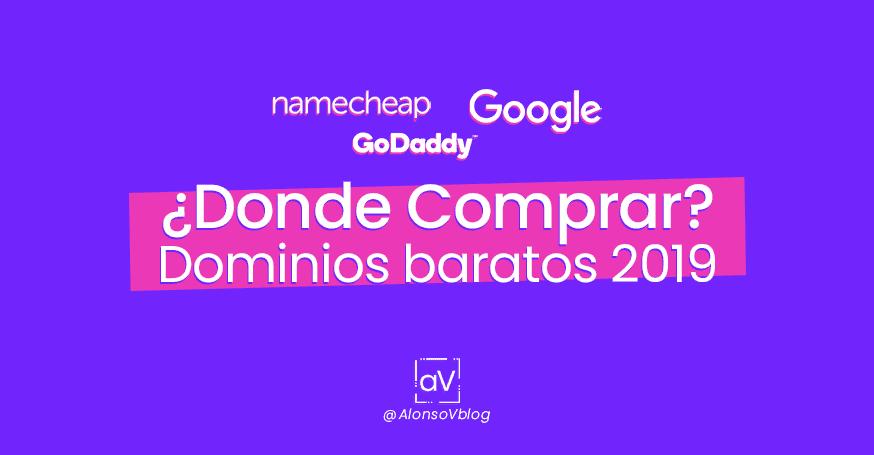 ¿Dónde comprar dominios Baratos? ▷  Casi Gratis 2019