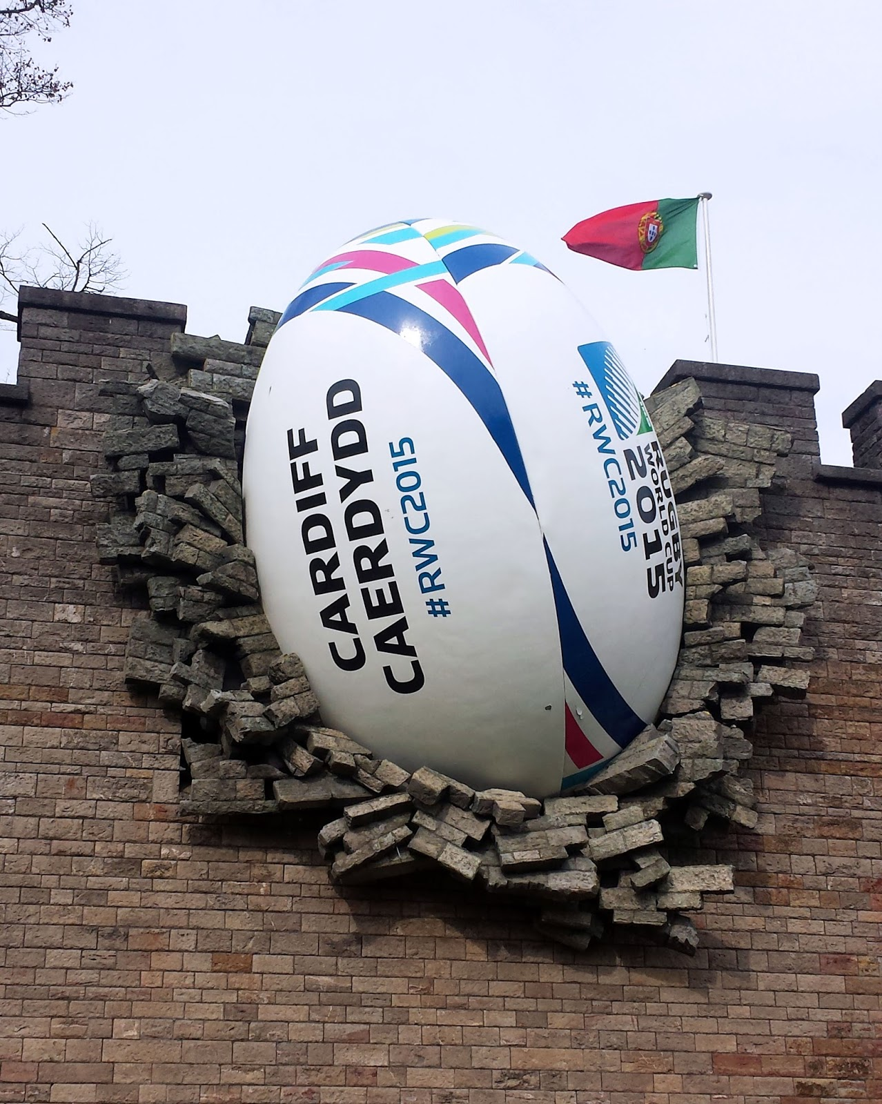 Rugby World Cup 2015 Cardiff Castle Rugby Ball