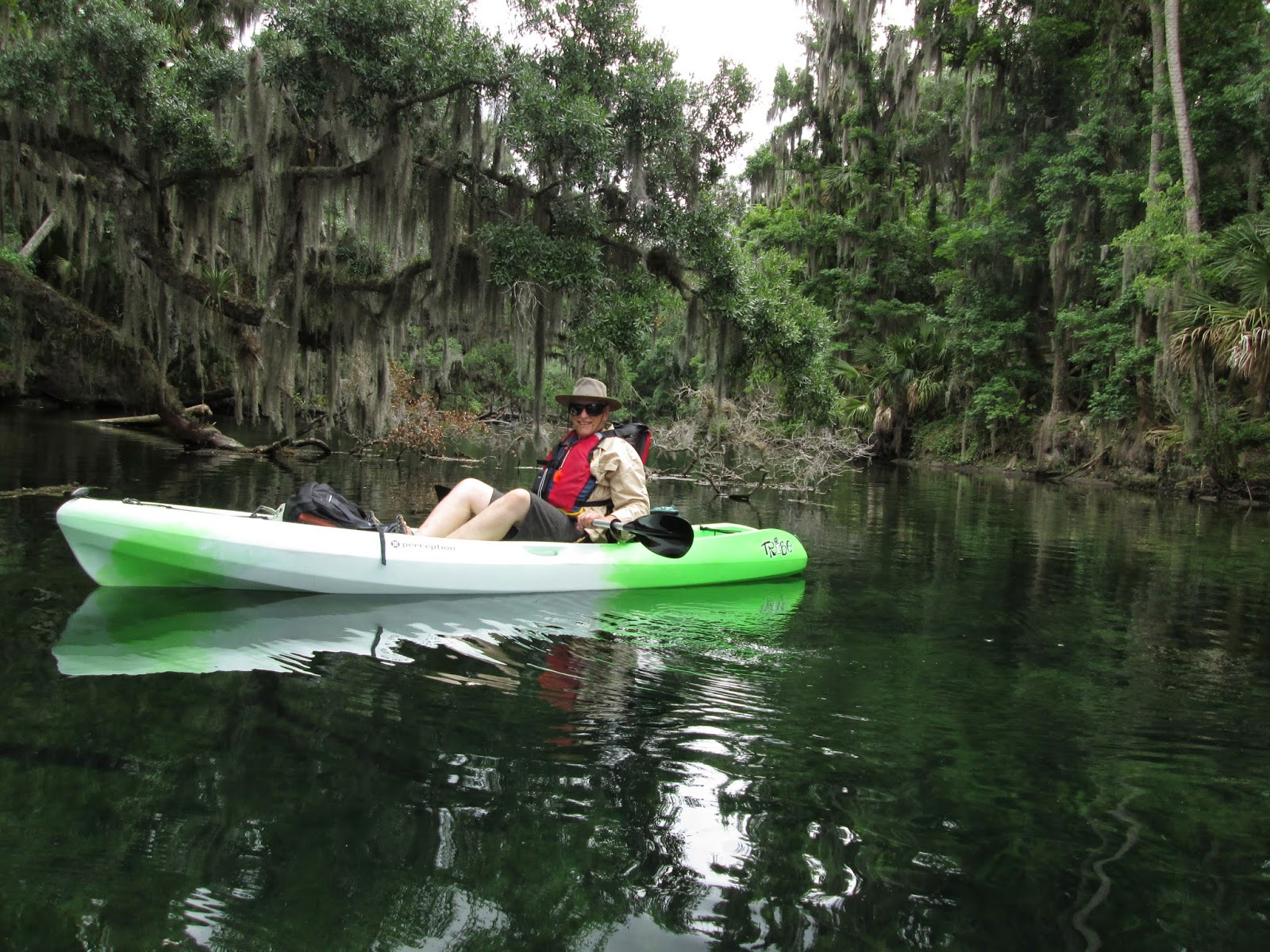 Canoeing around redhead fl for the