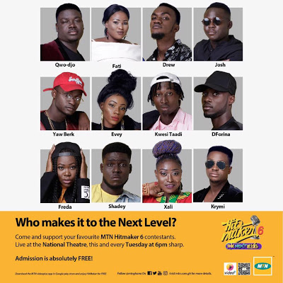 MTN Hitmaker Season 6 Makes First Eviction