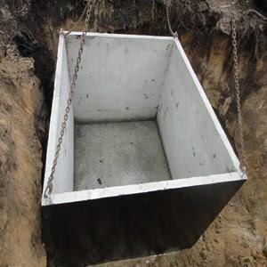 tanque septico de hormigon