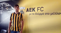 Επαγγελματικό συμβόλαιο με την ΑΕΚ υπέγραψε ο Γιώργος Γιαννούτσος
