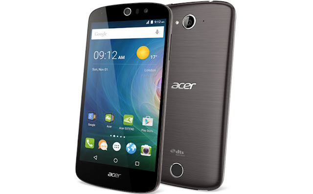 Acer Liquid Z530 Specifications - LAUNCH Announced 2015, September DISPLAY Type IPS LCD capacitive touchscreen, 16M colors Size 5.0 inches (~68.1% screen-to-body ratio) Resolution 720 x 1280 pixels (~294 ppi pixel density) Multitouch Yes BODY Dimensions 144 x 70.3 x 8.9 mm (5.67 x 2.77 x 0.35 in) Weight 145 g (5.11 oz) SIM Single SIM (Micro-SIM) or Dual SIM (Micro-SIM, dual stand-by) PLATFORM OS Android OS, v5.1 (Lollipop) CPU Quad-core 1.3 GHz Cortex-A53 Chipset Mediatek MT6735 GPU Mali-T720MP2 MEMORY Card slot microSD (dedicated slot) Internal 8 GB, 1 GB RAM 16 GB, 2 GB RAM CAMERA Primary 8 MP, autofocus, LED flash Secondary 8 MP Features Geo-tagging, touch focus, face detection, HDR, panorama Video Yes NETWORK Technology GSM / HSPA / LTE 2G bands GSM 850 / 900 / 1800 / 1900 - SIM 1 & SIM 2 (dual-SIM model only) 3G bands HSDPA 4G bands LTE Speed HSPA, LTE GPRS Yes EDGE Yes COMMS WLAN Yes GPS Yes, with A-GPS USB microUSB v2.0 Radio FM radio Bluetooth v4.0, A2DP FEATURES Sensors Accelerometer, proximity Messaging SMS(threaded view), MMS, Email, Push Mail, IM Browser HTML5 Java No SOUND Alert types Vibration; MP3, WAV ringtones Loudspeaker Yes 3.5mm jack Yes BATTERY  Removable Li-Ion 2420 mAh battery Stand-by  Talk time  Music play  MISC Colors Black, White  - MP3/WAV/AAC/Flac player - MP4/H.264 player - Photo/video editor - Document viewer