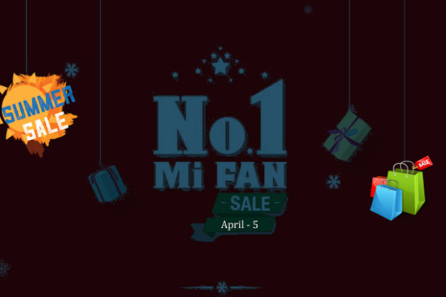 Summer Sale Offer – Xiaomi Mi Fan Sale or Big Discount on Flipkart