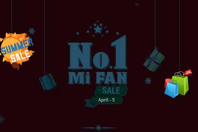 Summer Sale Offer – Xiaomi Mi Fan Sale or Big Discount on Flipkart