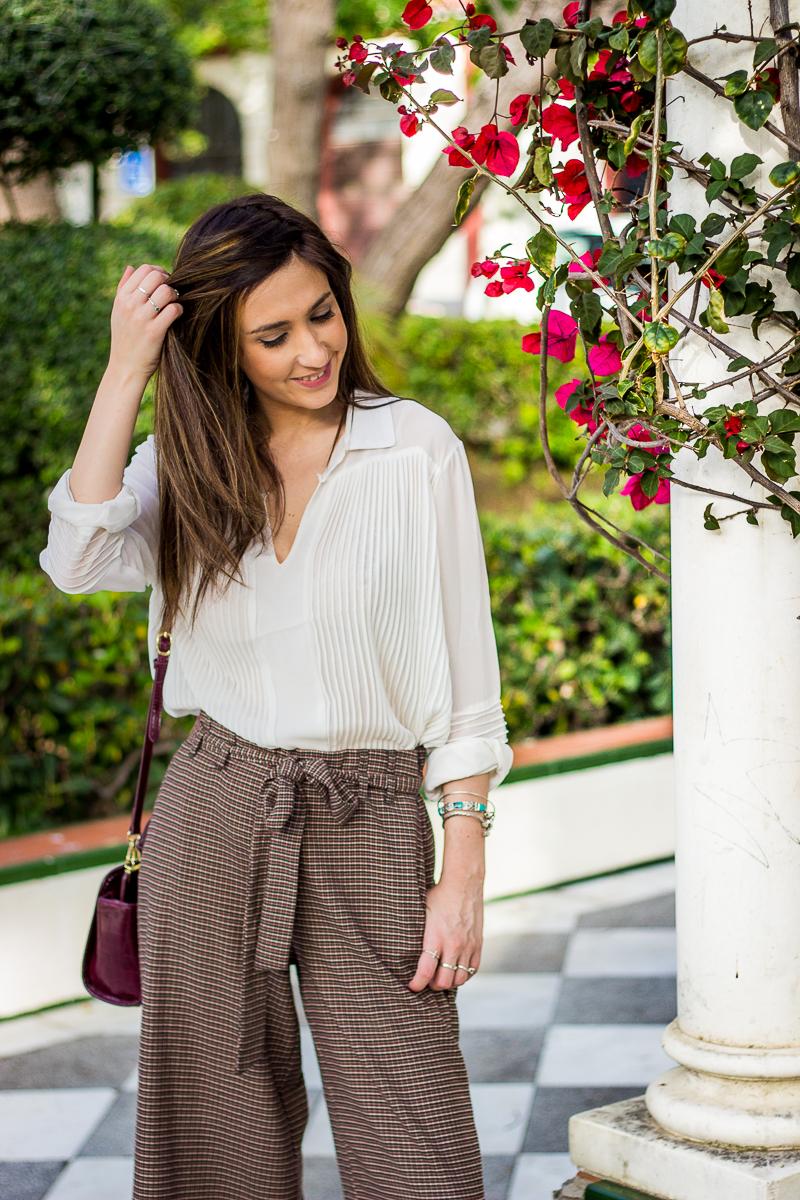 pantalón culottes