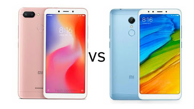 Xiaomi Redmi 6 vs Xiaomi Redmi 5