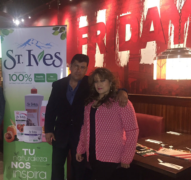 St Ives y TGI Fridays entregaron premio por San Valentín