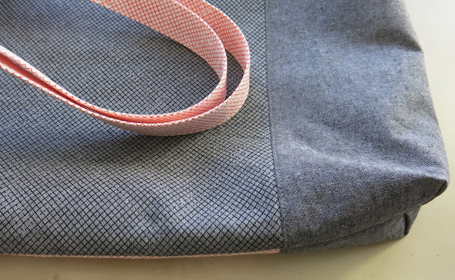 Tote bag - Noodlehead pattern - Backside