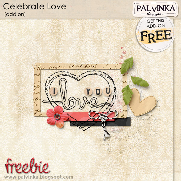New Celebrate Love Collection and Freebie