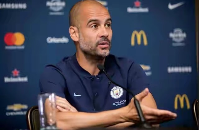 Guardiola reacts as FIFA impose transfer ban on Chelsea