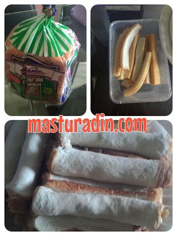cara memikat perut keluarga, resepi roti gulung fish cake , kek ikan