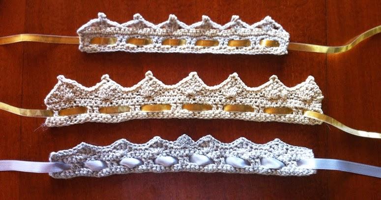 2clics Couronne De Princesse Au Crochet