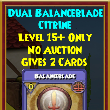 Wizard101 Polaris Best Jewel Drops - Dual Balanceblade Gem