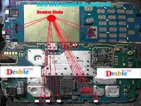 BB 9220 Trackpad menu error