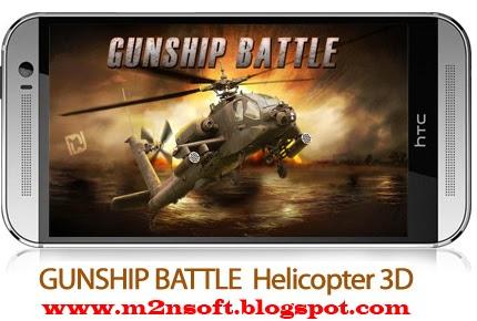 Download Gunship Battle Helicopter 3d 3d Mobile Game