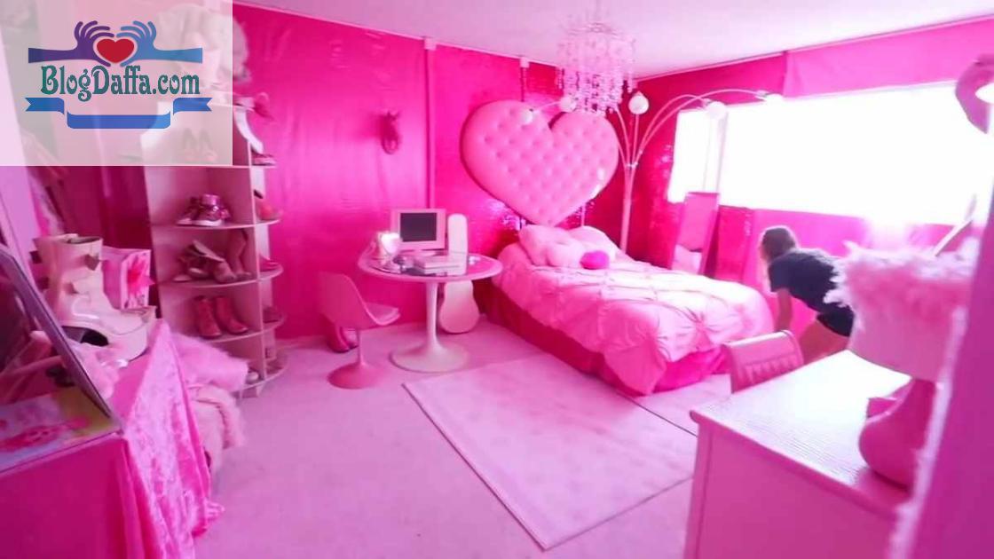 Rekomendasi cat kamar warna pink