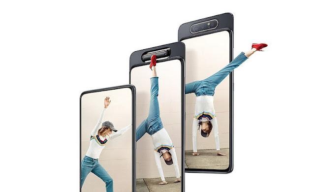 Spesifikasi Lengkap dan Harga Samsung Galaxy A80 - Smartphone Dengan Kamera Unik Dan Spek Gaming