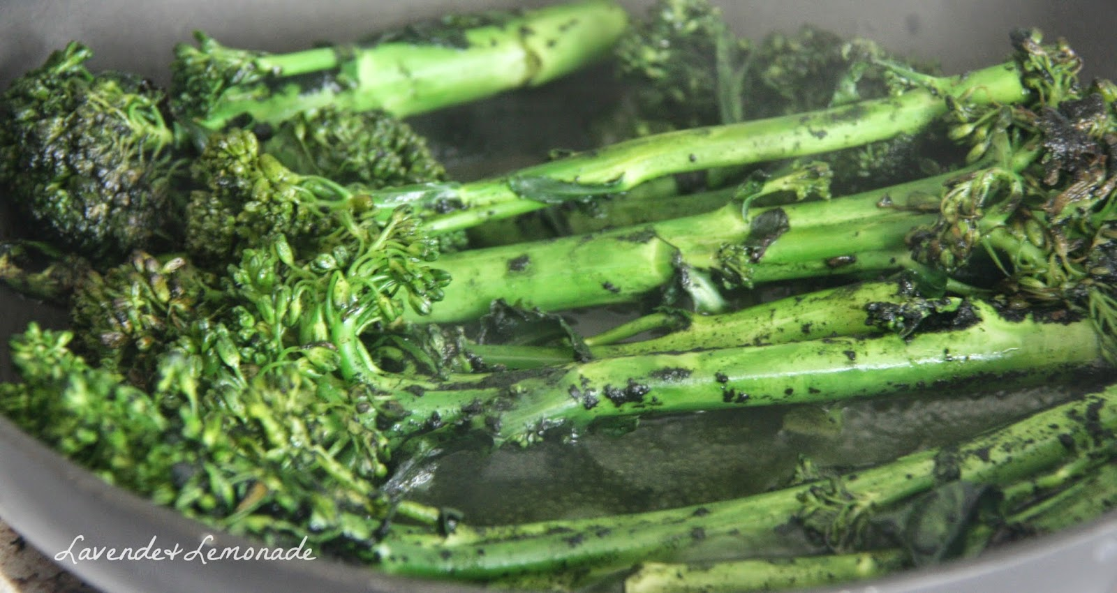 Spirulina Broccolini: Recipe for Breast Cancer Awareness & Prevention Month