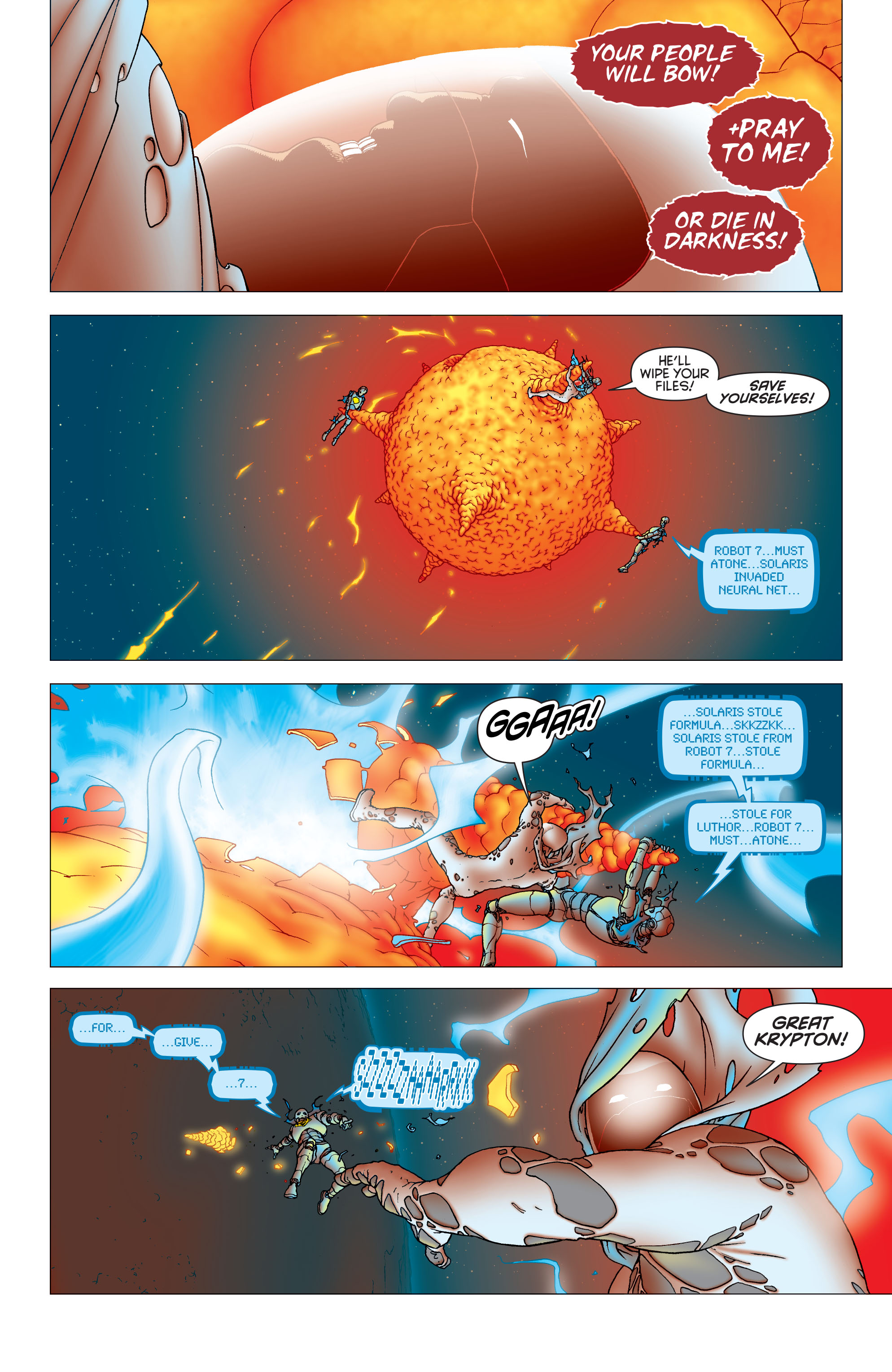 Read online All Star Superman comic -  Issue #11 - 15