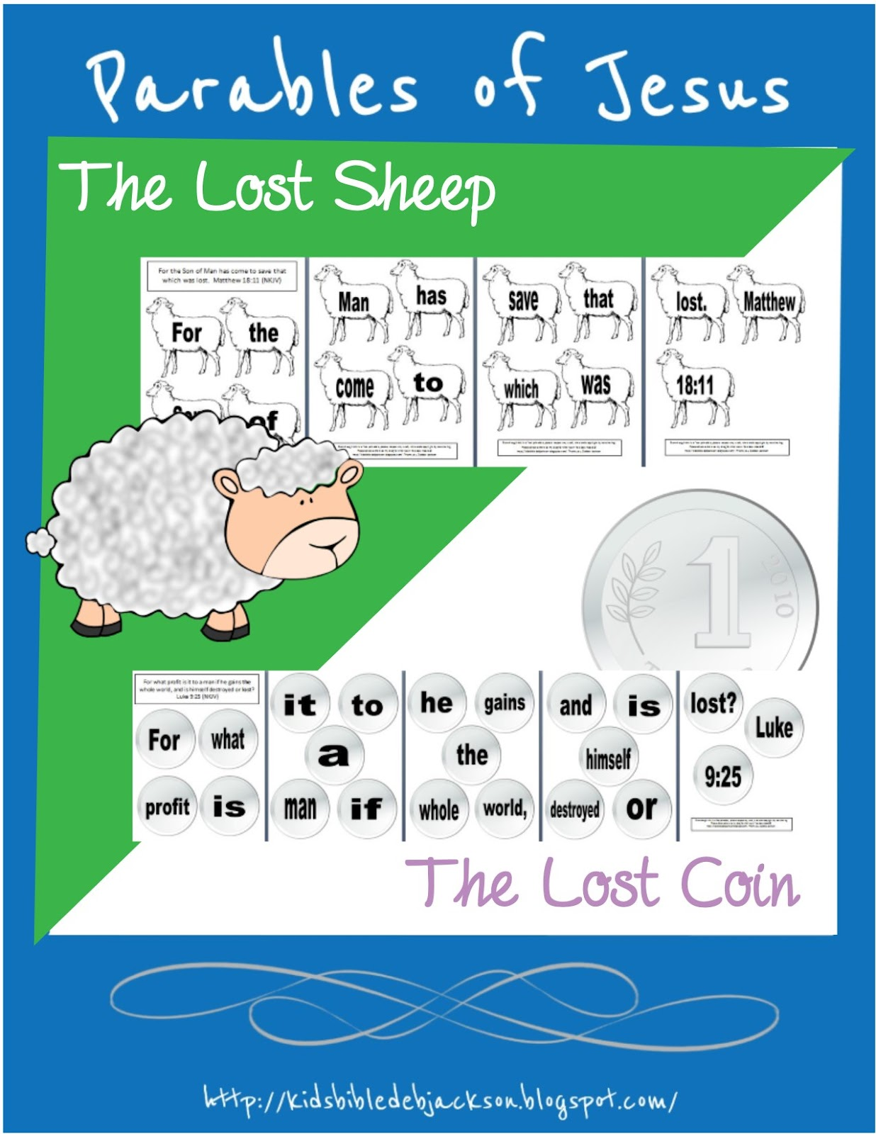 http://kidsbibledebjackson.blogspot.com/2014/10/parable-of-lost-sheep-lost-coin.html