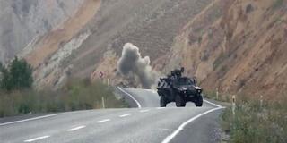 Bitlis'te Patlama 1 Askerimiz Yaralı