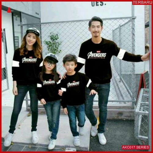 AKC017S53 Sweater Couple Anak 017S53 Keluarga BMGShop