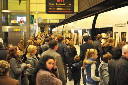 Metrovalencia prosigue su incremento de viajeros y desplazó en enero a 5,5 millones de usuarios