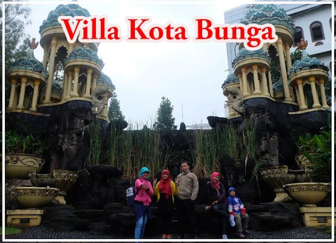 Nginep di Villa Kota Bunga, Maknyuss!!