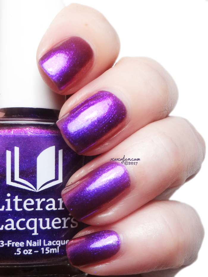 xoxoJen's swatch of Literary Lacquers Grin Without a Cat