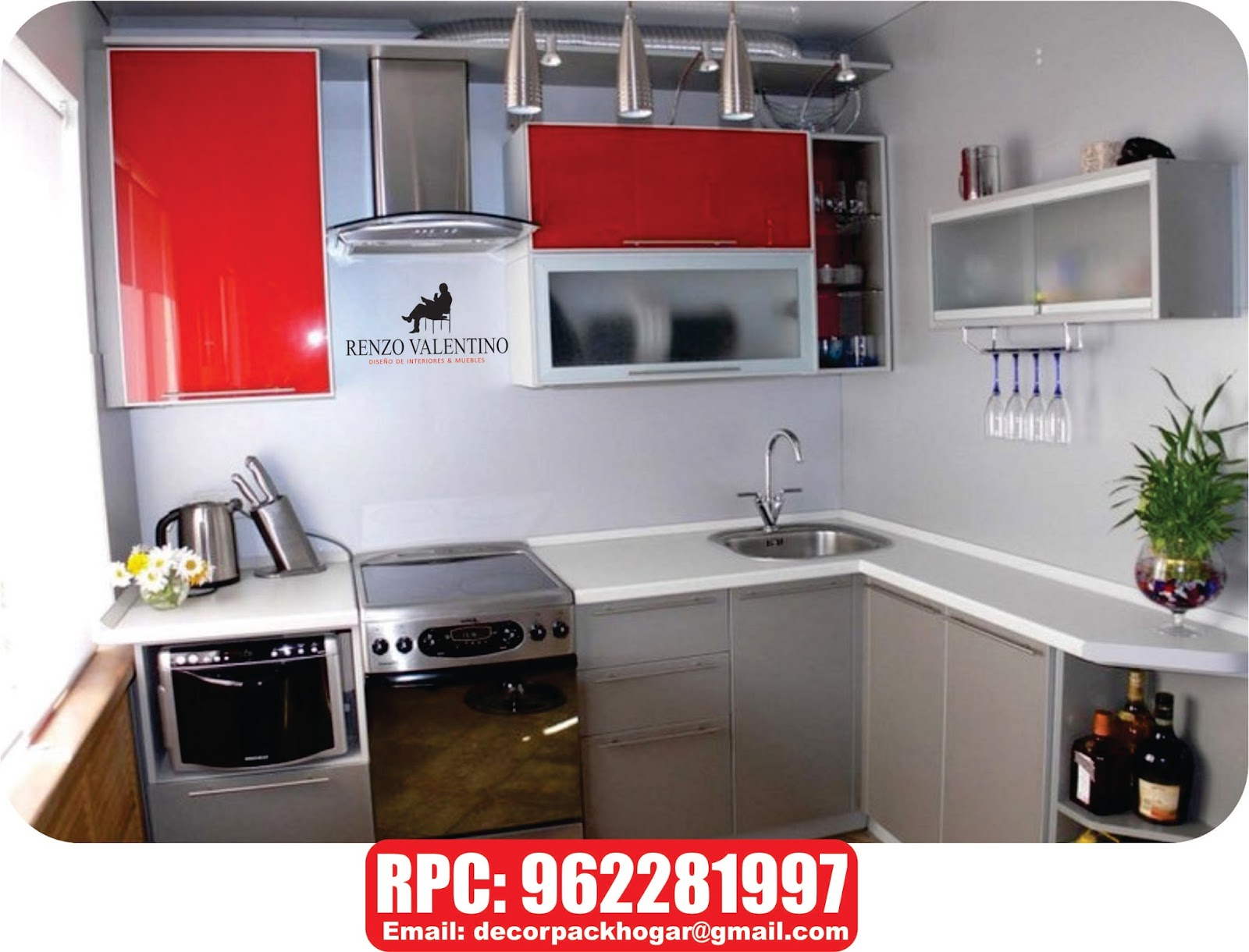 Dise os fabricacion de closet cocina y muebles de oficina for Muebles de cocina basicos
