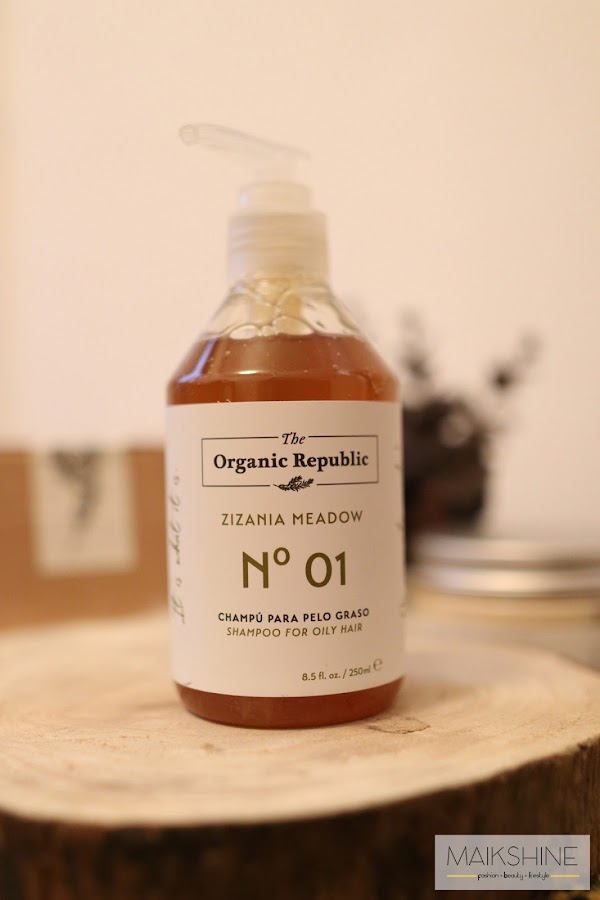 review champú The Organic Republic