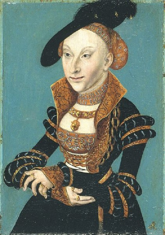 It\'s About Time: 1500s Women attributed to father & son Lucas ...