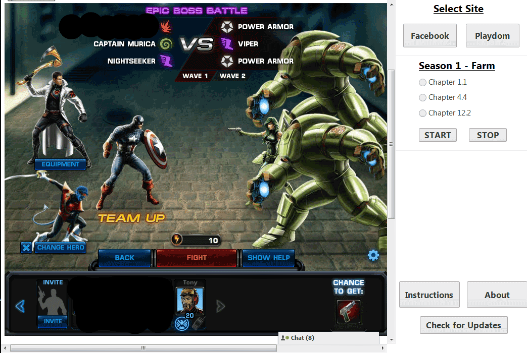 Marvel Avengers Alliance Cheat using Charles Proxy