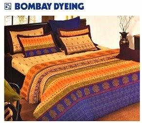 Flat 60% Cashback on Bombay Dying Bedsheet @ Paytm