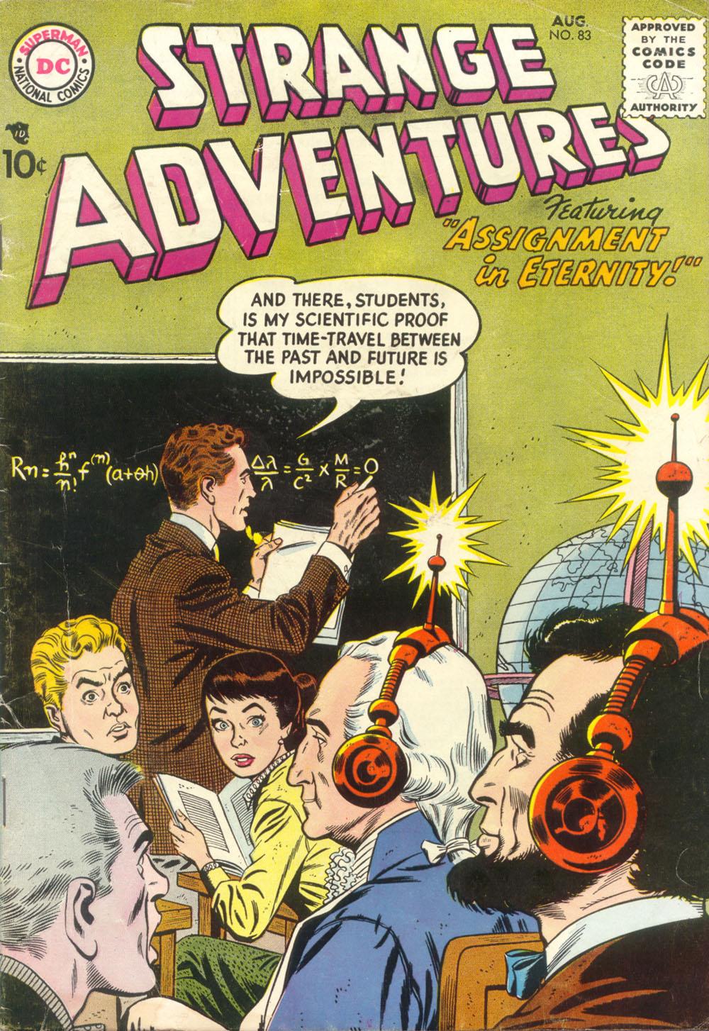Strange Adventures (1950) 83 Page 1