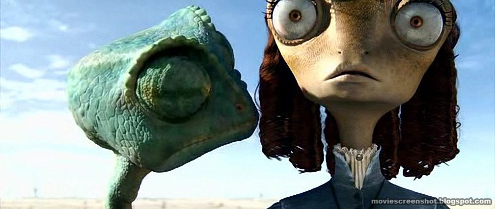 Rango movie screenshots