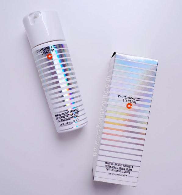 Lightful C Marine Bright Formula Softening Lotion Spray Mac Cosmetics