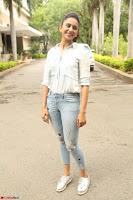 Rakul Preet Singh in Jeans and White Shirt At Jaya Janaki Nayaka le Logo Launch ~  Exclusive 050.JPG