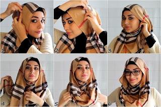 Tutorial Gambar Hijab Pashmina 2016