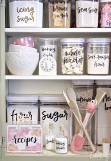 Pantry Labels - Free Printables