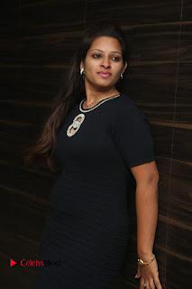 Actress Jyo Stills in Black Short Dress at Dwaraka Movie Audio Launch 0006