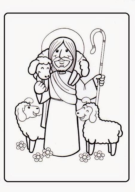 Parroquia La Inmaculada: IV Domingo Pascua: Fichas para niños