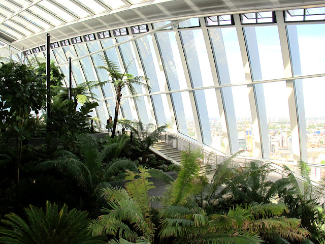 Sky Garden, London brunch