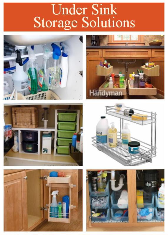 Diy Home Sweet Home Under Sink Storage Solution