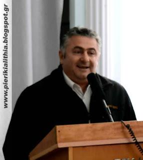 ΒΙΝΤΕΟ - Γιώργος Κυριακίδης, συνέλευση Καλλιθέας.