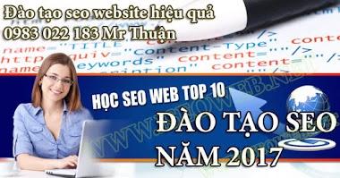 Dạy seo web thành lập công ty Bình Dương