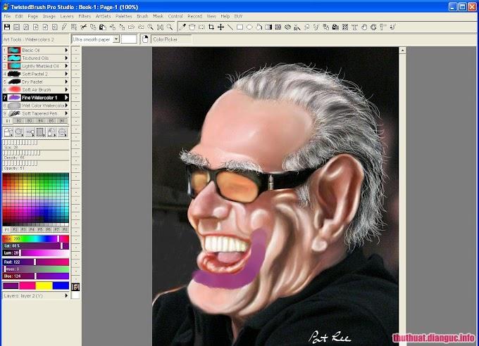 Pixarra TwistedBrush Pro Studio 24.04 Full Cr@ck – Phần mềm vẽ tranh trên máy tính