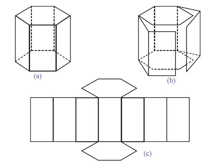 Contoh Cara Membuat Jaring-jaring Primas dan Limas ...